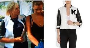 yolanda clothing off housewives yolanda foster s k varsity jacket details http www bigblondehair