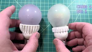 Led Flood Light Bulb Reviews by Cree Tw Vs Ge Reveal Color Enhancing Led Bulb Review Which One