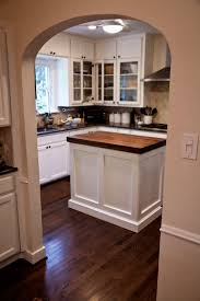 walnut kitchen island counters in west university texas handymen