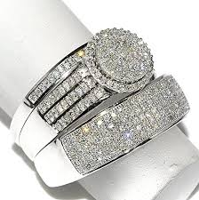 his and hers engagement rings sets wedding ring sets his and hers white gold best of rings