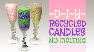 wine birthday candle how to recycle your old candles no melting youtube