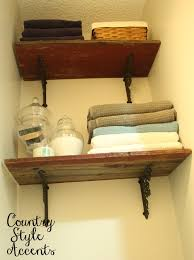 Barn Wood Shelves Rustic Shelves Using Barn Wood Country Style Accents