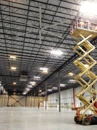 how to cool a warehouse with fans the most efficient way to cool a facility with high ceilings