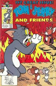 tom jerry friends 1991 comic books