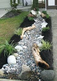 Pictures Of Rock Gardens Landscaping River Rock Landscaping Ideas Garden Rock Landscape River