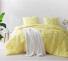Duvet Cover Oversized King Limelight Yellow Pin Tuck King Comforter Oversized King Xl Bedding