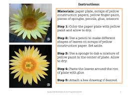 making a sunflower craft for kids u2022 spanish4kiddos educational