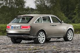 rolls royce rear the new rolls royce suv could look like this autoguide com news