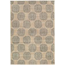 home decorators area rugs home decorators collection essex medallion slate 5 ft 3 in x 7 ft
