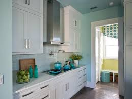 kitchen galley kitchen ideas with wall mounted kitchen cabinet in