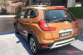 honda cars to be launched in india 2017 honda wrv india launch price inr 7 75 lakh details photos