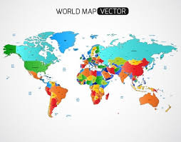 world map vector free 25 free vector world maps creatives wall