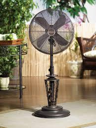 outdoor oscillating fans patio pedestal fan in retro style metal oscillating pedestal fan