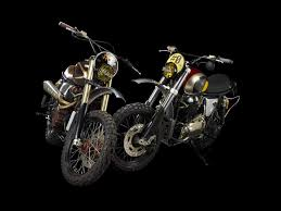 triumph motocross bike triumph bonneville mx evo by ton up garage