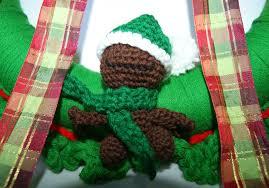 mixin it up with daperfectmix u0027 crochet christmas wreath