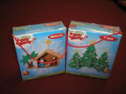 foamies very merry 3d foam craft kits set of 2