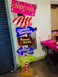 candyland decorations my candyland location sign how it came out khloe s candyland