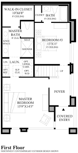 master up floor plans mcgraw square at queen anne the prospect elite home design