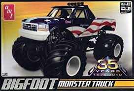 bigfoot monster truck game amazon com 1 25 bigfoot ford monster truck toys games