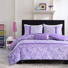bedding set dazzling pink and black comforters for teens also