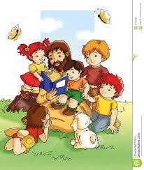 jesus and children royalty free stock photos image 12725688