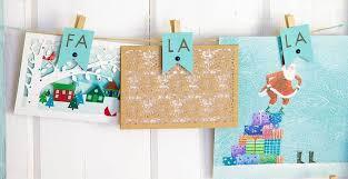diy christmas card display ideas for home fiskars