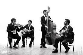 orchestre jazz manouche quartet pour mariage cocktail - Orchestre Jazz Mariage