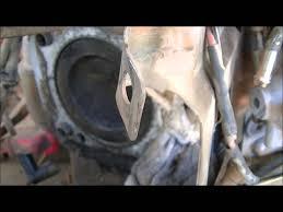 blown head gasket on kohler command pro 25 horsepower youtube
