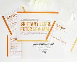 free elegant classic wedding invitation set on luxury card modern