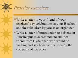 informal letters