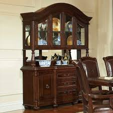 steve silver ay200b ay200h antoinette buffet with hutch in warm