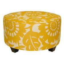 Colorful Ottomans For Sale I Like The Of This Ottoman The Print Is A Bold