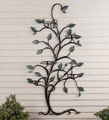 hanging tree trellis with pumpkin flower pot holders so that u0027s