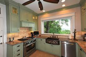 Extraordinary Olive Green Painted Kitchen Cabinets Exquisite - Olive green kitchen cabinets