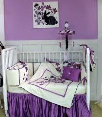 purple wildflower crib bedding lavender crib bedding a royal