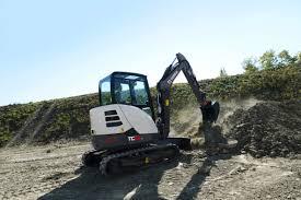 terex mini excavators specifications manuals technical data on