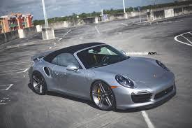 custom porsche 911 turbo porsche turbo s adv05 m v2 cs brushed titanium w matte clear