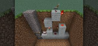 How To Make Light In Minecraft How To Make An Invisible Piston Door To Keep Your Hideout A Secret