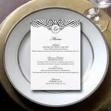 Buffet Menu For Wedding by Wedding Menu Cards 3 Reasons Why You Need Them Emmaline Bride