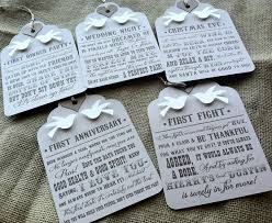 Hostess Gifts For Bridal Shower Wine Basket Of Firsts Hang These Tags On 5 Wine Bottles You May