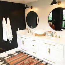 Black Painted Bathroom Cabinets Best Bathroom Inspirations Of 2016becki Owens
