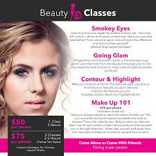 make up classes for hair and makeup classes beauty entourage