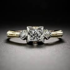 engagement rings a backward glance aju