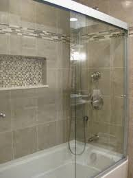 Bathroom Accents Ideas Cozy Small Bathroom Shower With Tub Tile Design Ideas 11