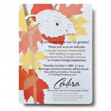 Paper Invitations Recyclable Plantable Seed Paper Invitations