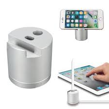 charging station phone 3 in 1 multifunctional pencil charging docking station phone stand