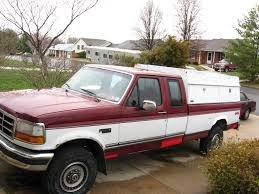 1997 Ford F250 Utility Truck - ladder rack on cap ford truck enthusiasts forums
