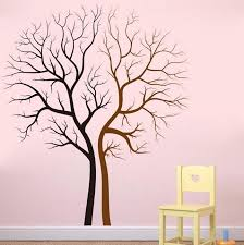 tree sticker vinyl tree family tree wall decal for home