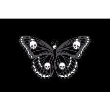must skulls butterfly skulls