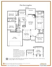 barrington floor plan single level living niblock homes